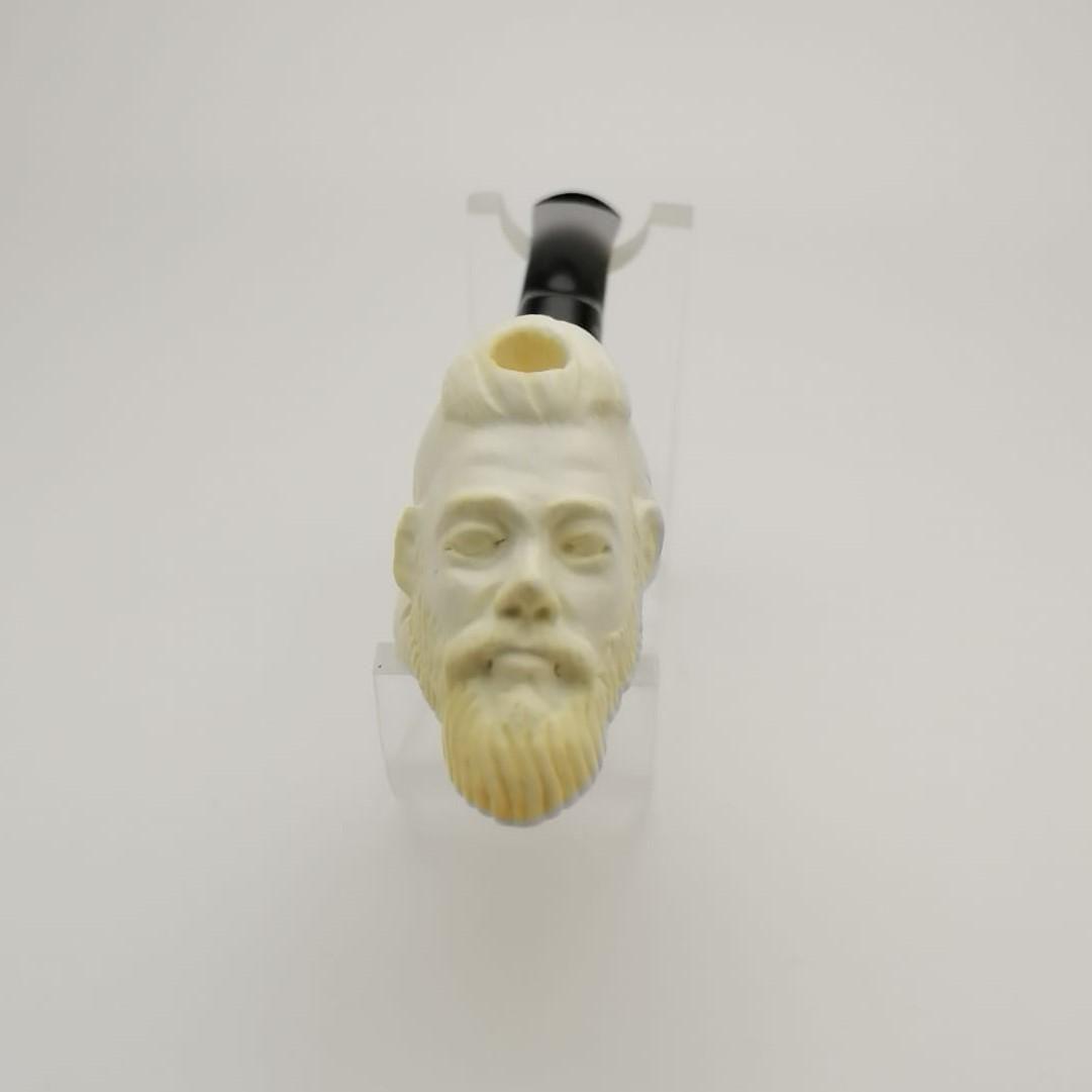 Ragnar Lothbrok,Vikings,Hand carved Meerschaum