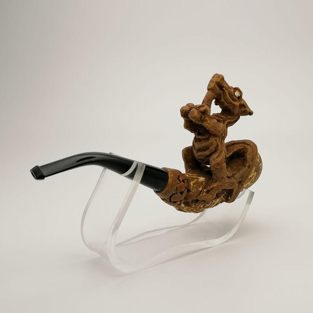 Dragon,Hand carved Meerschaum Cigarette Holder