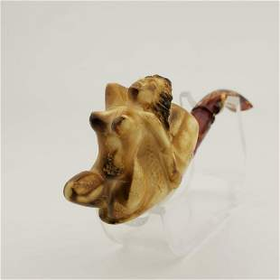 Nude Lady,Hand carved Meerschaum Pipe