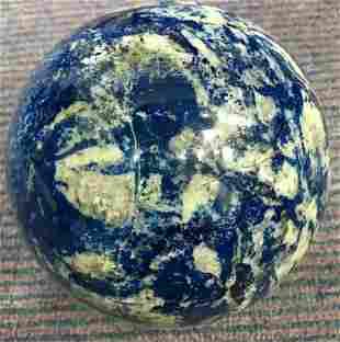 AAA Quality 5200 Grams Aqua Blue Lapis Lazuli Sphere
