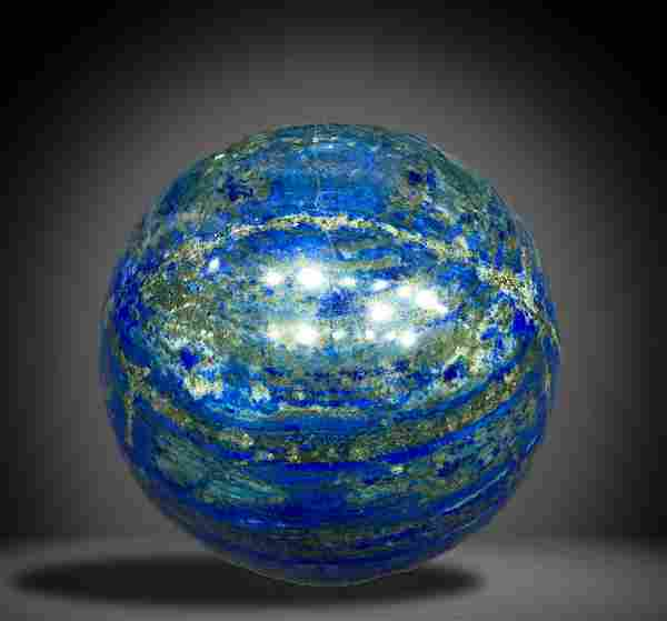 Huge Size 7900 Grams Royal Blue Lapis Lazuli with
