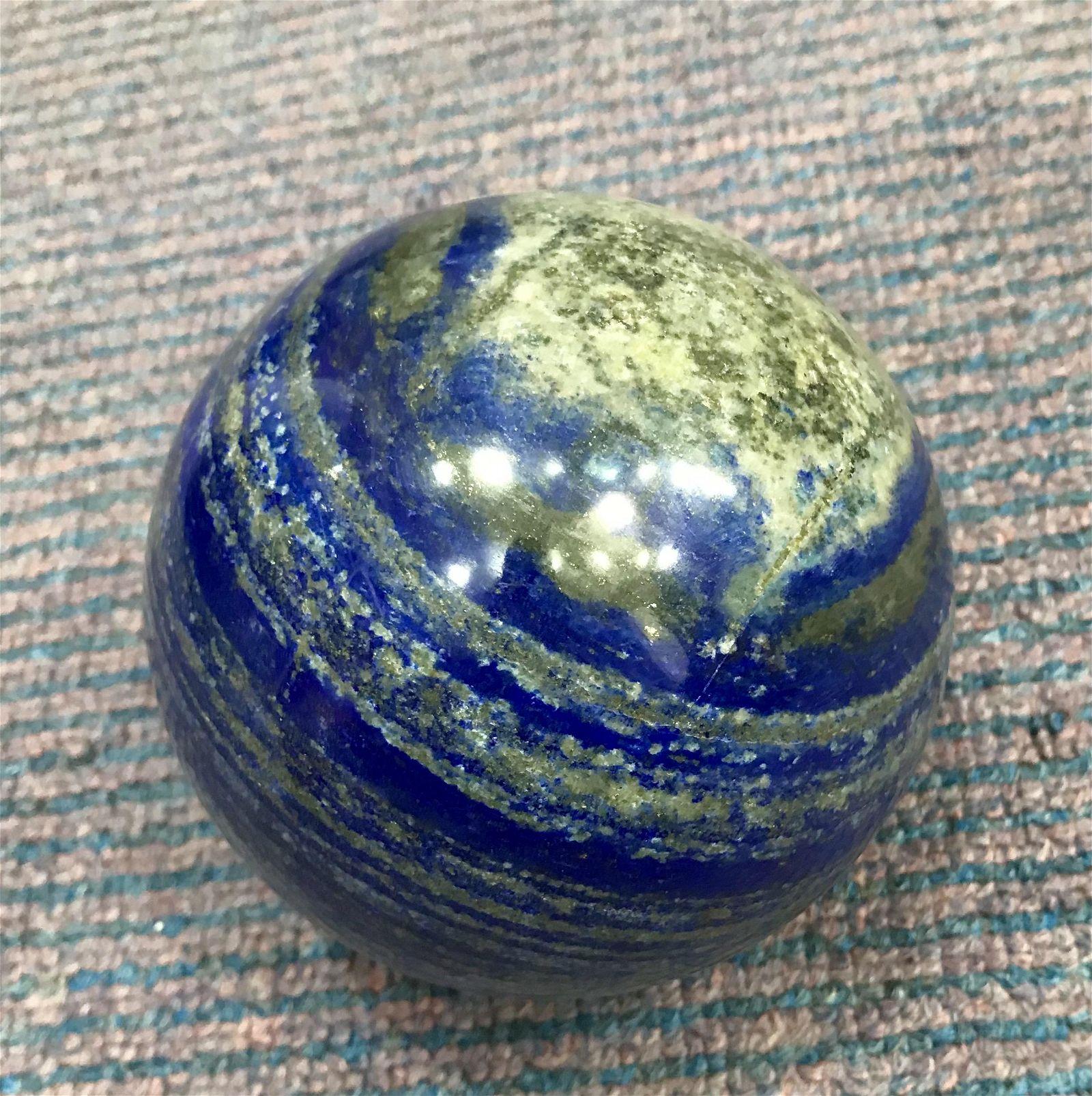 1640 Grams Royal Blue Lapis Lazuli with Pyrite Combine