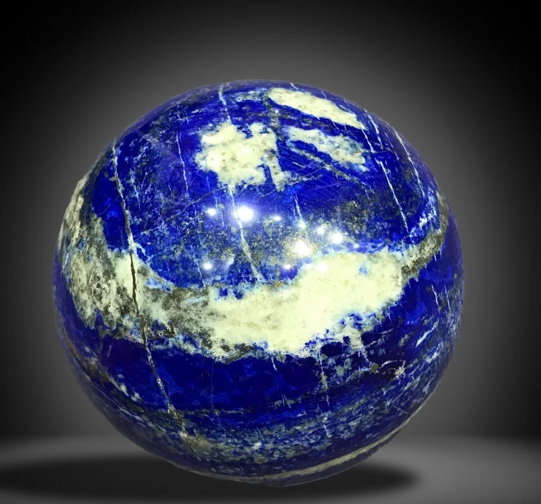 4900 Grams Royal Blue Lapis Lazuli with Pyrite Combine