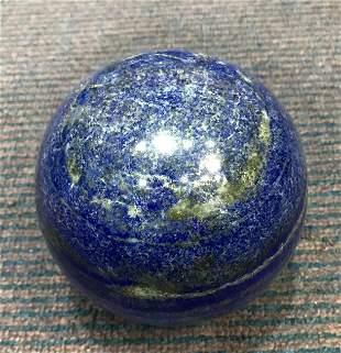 AAA Quality 2800 Grams Royal Blue Lapis Lazuli Sphere