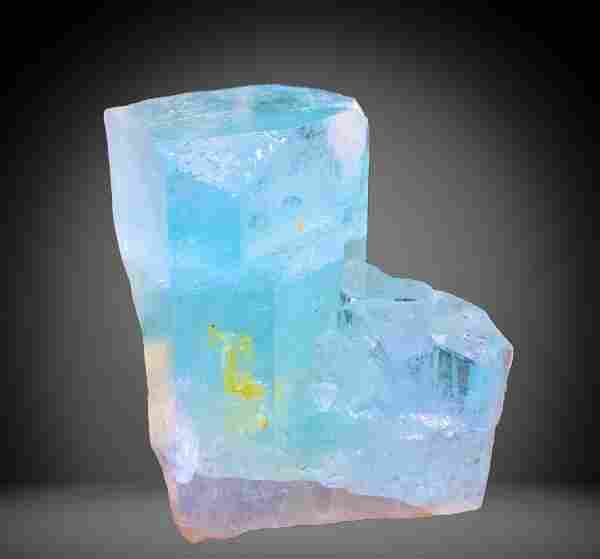 813 Carats Natural Unheated Well Terminated Deep Blue