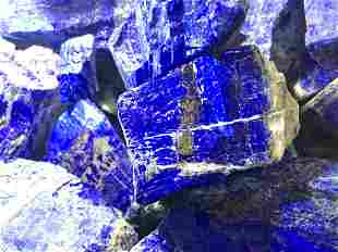 65 Kgs 100% Natural High Quality Lapis Lazuli Healing