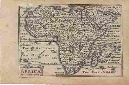 648 van den Keere Map of Africa -- Africa