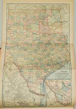1903 The Twentieth Century Peerless Atlas of the World