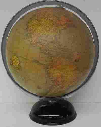 Rand McNally Indexed Terrestrial Art Globe