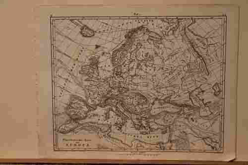 1862 Map of Europe