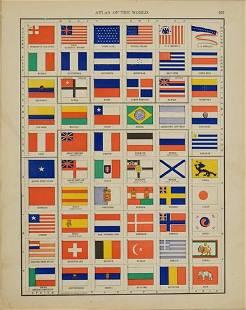 99 Rand McNally Chart of World Flags -- [World Flags]