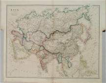 1842 Arrowsmith Map of Asia -- Asia