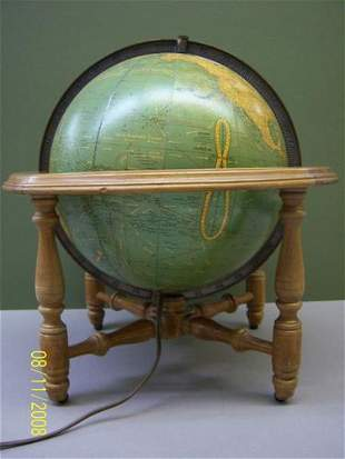 10.5 inch Terrestrial Cram's globe.