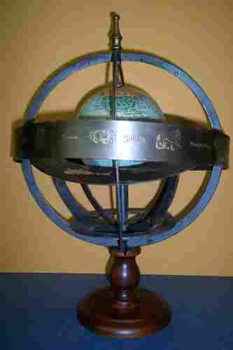 Globe Terrestre (at center of French Orrery)