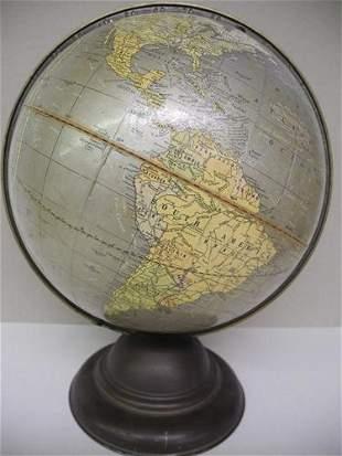 Cram's Unrivaled Terrestrial Globe -10.5 inch-
