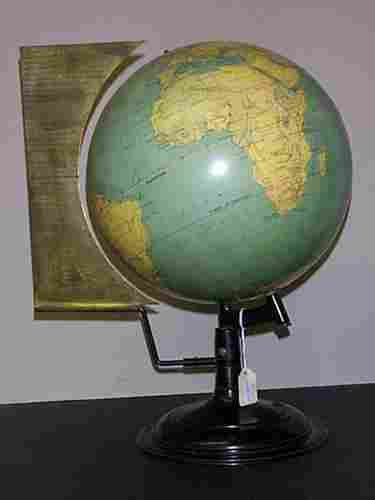 12 inch Terrestrial Globe by W. & A.K. Johnston,