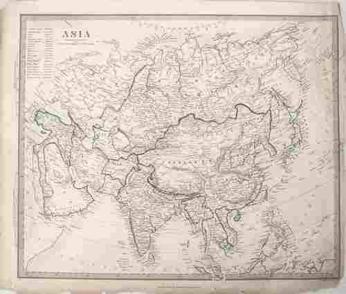 1840 SDUK Map of Asia -- Asia