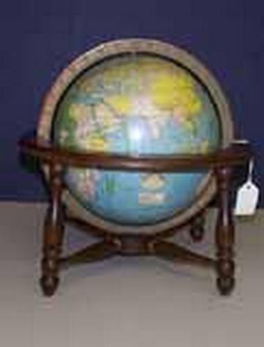New Peerless 8 inch Globe. Terrestrial Globe.