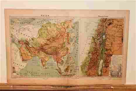 1877 Map of Asia