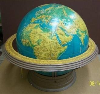 16 inch Physical-Political Terrestrial globe.
