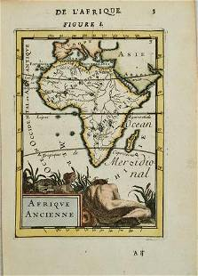 1684 Manesson-Mallet Map of Africa -- Afrique Ancienne