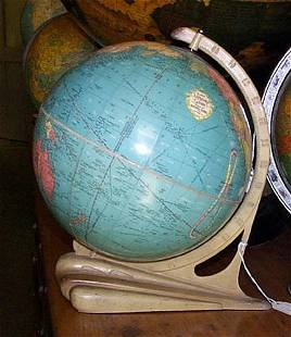 10 inch Standard Globe. Clear * Accurate * Up-to-Date