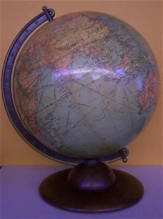 12 inch Library Globe Replogle Globes Inc. Chicago