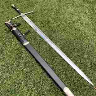 Saber stainless steel sword hunting dagger metal