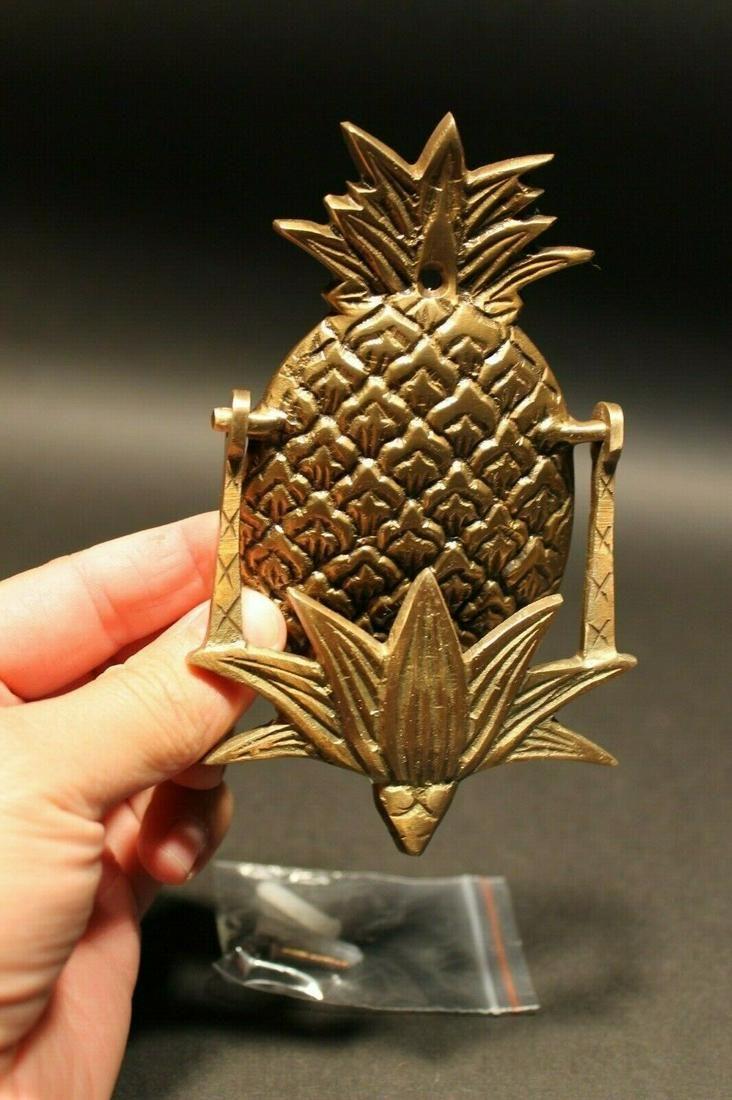 Brass Pineapple Door knocker