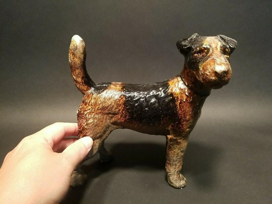 Cast Iron Terrier Dog