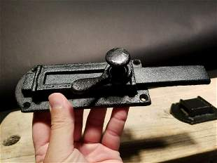 Cast Iron Door Gate Slide Lock Latch