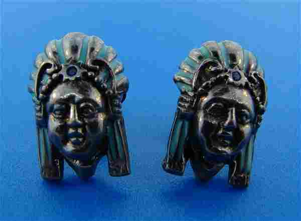 TRIBAL M.C.L. American Indian Sterling Silver &