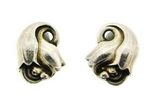 WOW Jensen Denmark Sterling Silver Earrings #100!