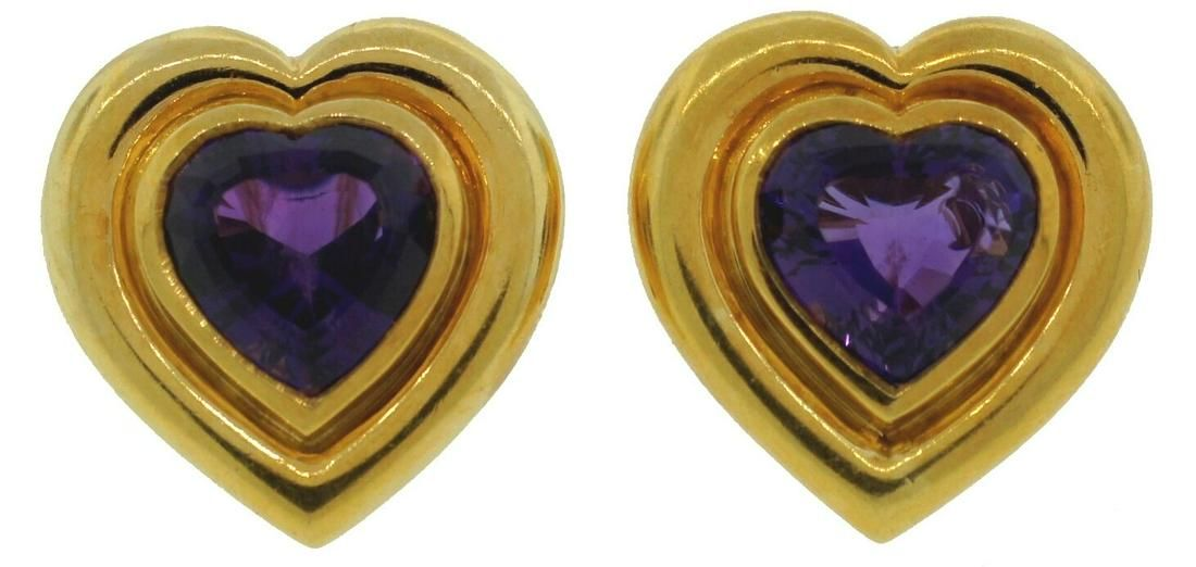 TIFFANY & Co. by PALOMA PICASSO AMETHYST HEART YELLOW