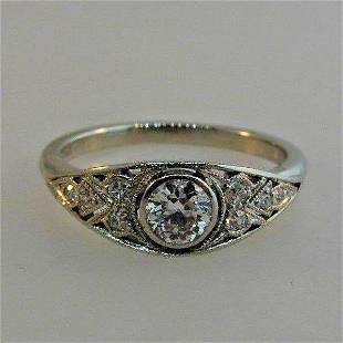 CLASSIC Tiffany & Co. Platinum & Diamond Engagement