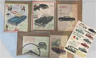 VINTAGE 1950s FORD ADS
