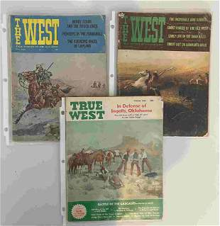 A COLLECTION OF TRUE WEST MAGAZINES