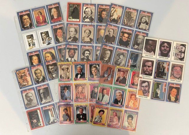 A COLLECTION OF AMERICANA COLLECTOR CARDS + MORE