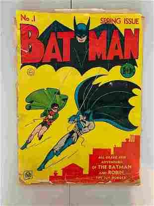 BATMAN #1 1975 REPRINT