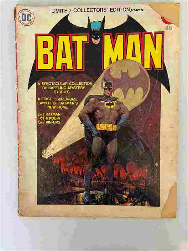 DC COMICS BATMAN LIMITED COLLECTORS EDITION