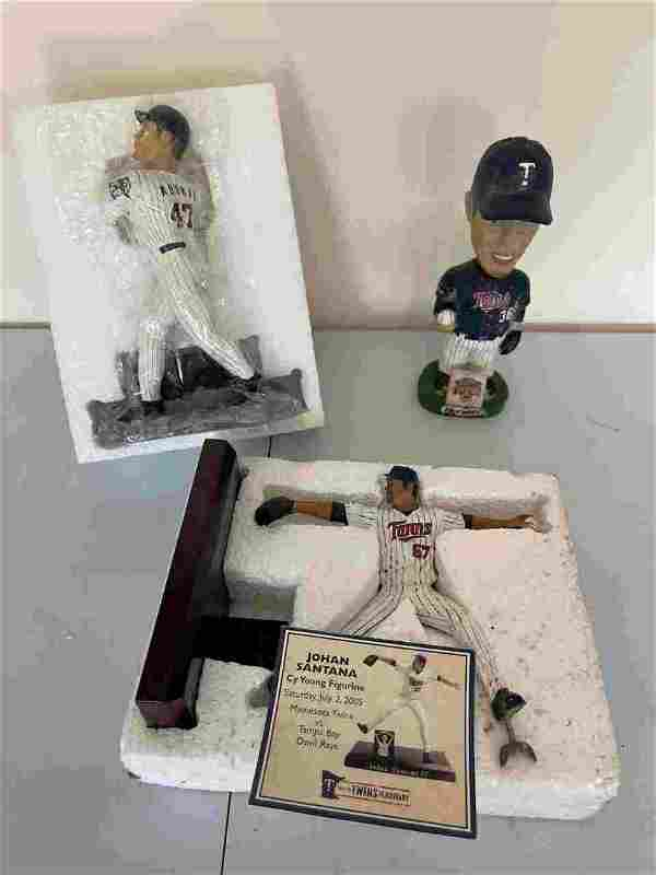 MINNESOTA TWINS COLLECTIBLE TOYS