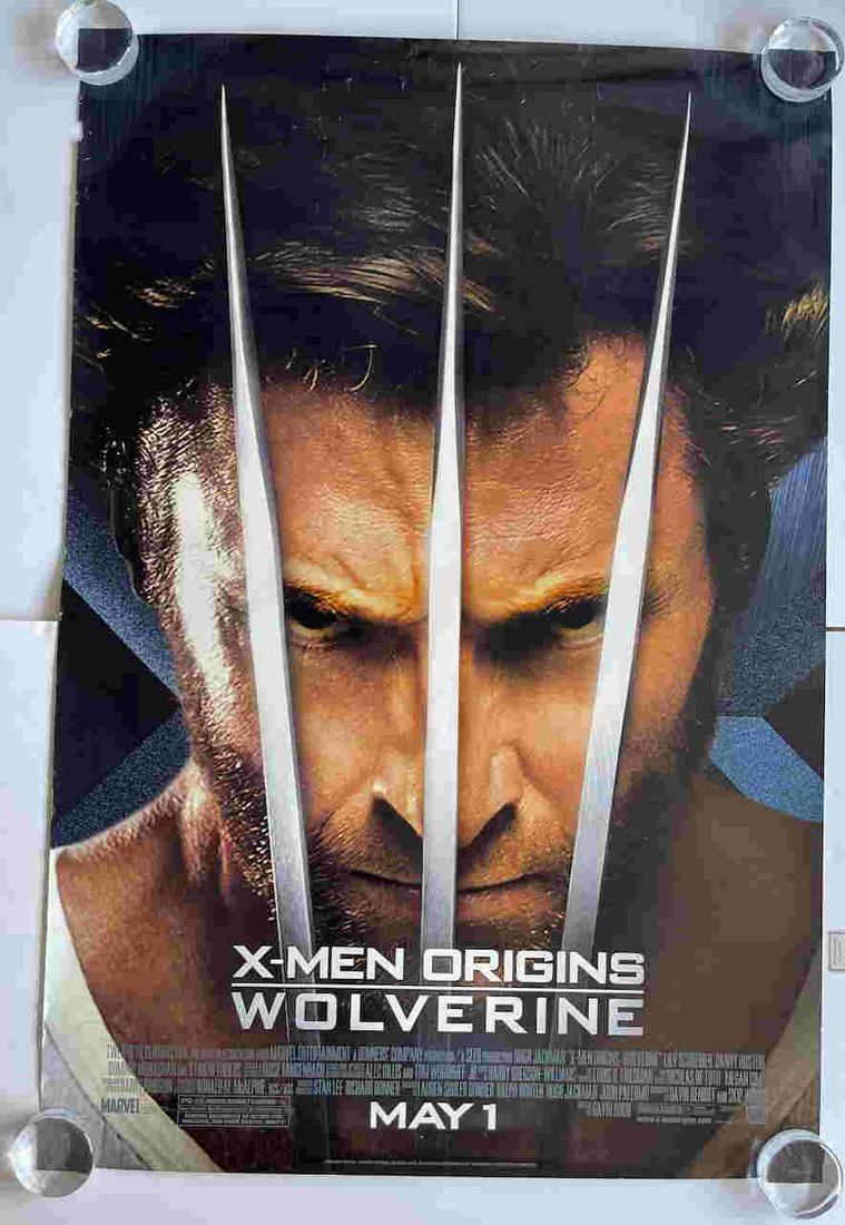 X-MEN ORIGINS WOLVERINE ONE SHEET