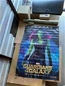 GUARDIANS OF THE GALAXY SUBWAY/BUS STOP POSTER