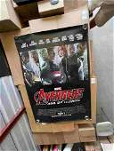 THE AVENGERS SUBWAY/BUS STOP POSTER