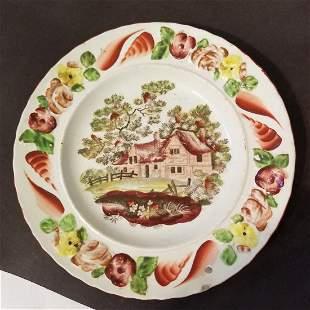 English child's plate