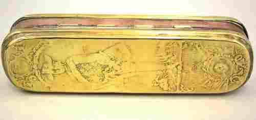 A good mid 18th century Iserloahner tobacco box
