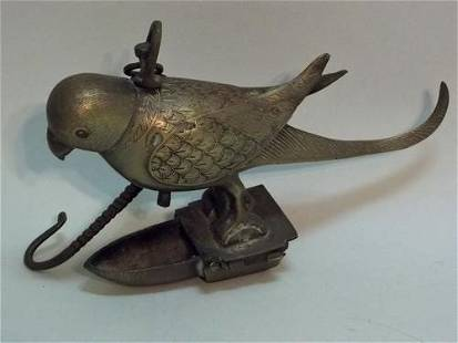Carved Brass Bird