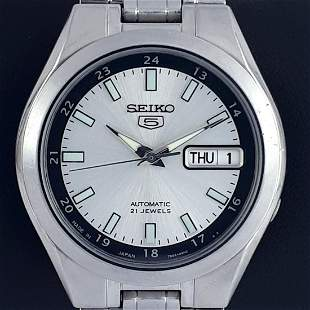 Seiko - Seiko 5 Transparent - Day-Date - Ref:7S26B -