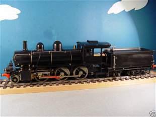 Aster PRR JNR 8550 Mogul brass/steel locomotive, live