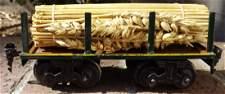 Bing O-scale train car, Made in Germany,c8.